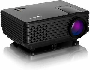 iClever IC-P01-EU Portable 1080P LED Multimedia Projector
