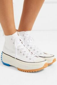 Converse JW Anderson Run Star Hike Hi White Size 9.5 US - Sold Out Rare- Fashion