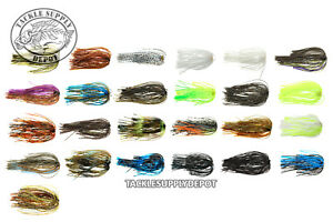 Replacement Spinnerbait Jig Skirts TSD Core Quick Change 5pk Pick $4.39