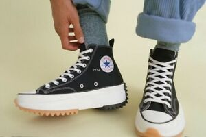 Converse JW Anderson Run Star Hike Hi Black Size 4.5 US - Sold Out Rare- Fashion