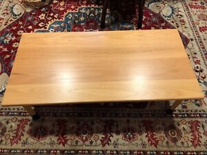 Coffee Table Custom made Solid Wood Perfect Condition
