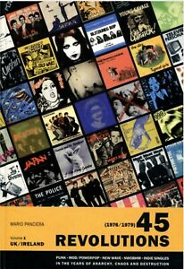 45 Revolutions - NEW STILL SEALED Discography Of Punk Mod New Wave NWOBHM - KBD