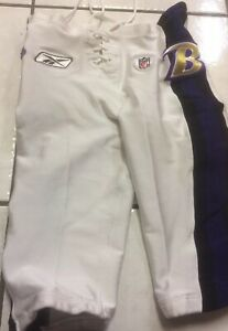 Ravens Game Worn Issued Reebok Pants 34 $60.00