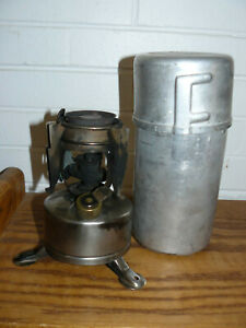 1945 Prentiss Wabers camping stove WWII US Army's 10th Mt Division US PW 1 45
