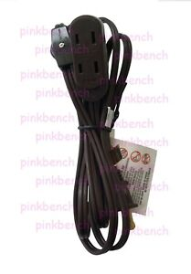 6-feet 16/2 Household Extension Cord with Thumb Wheel On/Off Switch Brown