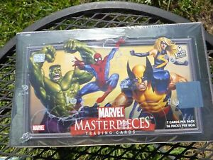 2007 Marvel Masterpieces  Series 1 Sealed Hobby Box From Upper Deck !