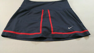 Nike Dri Fit Size Small Skort Skirt Golf Tennis Running Attached Shorts Black
