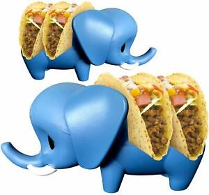 Elephant Taco Holder for Kids Set of 2 Taco Holders Cute Taco Stands for Soft