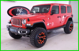 2019 Jeep Wrangler Unlimited Sahara Custom 2019 Unlimited Sahara Custom New 3.6L V6 24V Automatic 4WD SUV