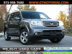 2014 Honda Pilot 4WD 4dr EX-L 4WD 4dr EX-L BACK UP CAMERA BLUETOOTH 3RD ROW SUNROOF HEATED SEATS SIDE STEPS SU