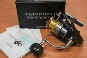 Shimano 15 Twin Power SW 5000HG SHIMANO TWIN POWER Limited Good condition Ge