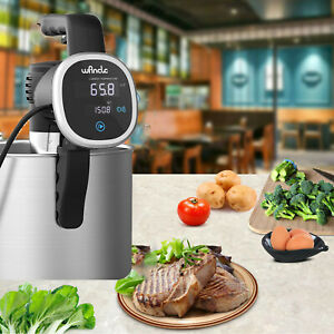 Upgrade Sous Vide Cooker Machine Thermal Immersion Circulator Handheld 850 Watts