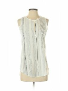 Philosophy Republic Clothing Women White Sleeveless Blouse XS