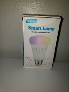 Lohas LED Smart Lamp with Dimmable Multicolored Color E26 10W RGBW Light
