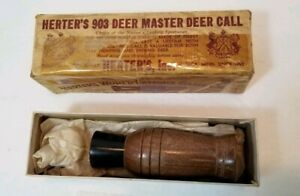 Vintage Herter's No. 903 Deer Call w Box