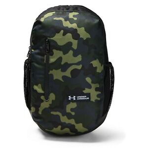 Under Armour UA 17L Roland Backpack Book Bag Color Outpost Green Camo NEW! $29.95
