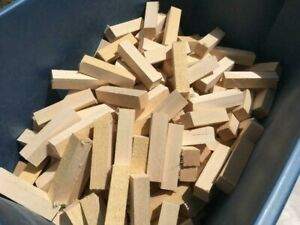 26 1quot; x 1quot; x 4quot; Solid Basswood Carving Turning Wood Blocks $14.99