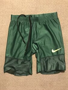 Men's Nike Pro Elite Green Compression Running Shorts Small S $125.00