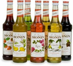 Monin Premium Flavoring Syrup, 750mL, 25.4 oz (select flavor)