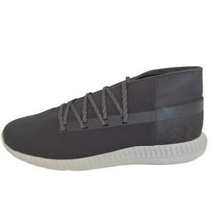 Under Armour Shoes Mens 13 Charcoal Veloce Mid Ripstop Sportstyle 1302495 101 $60.00
