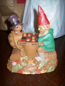 Tom Clark Wolfe Gnome Cairn Ed #91 It's Your Move Checker Turtle 1997
