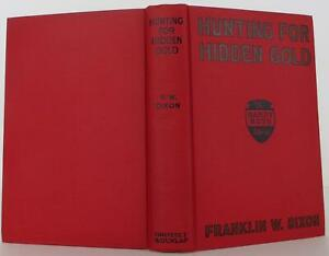 Franklin Dixon Hunting for Hidden Gold First Edition 1928 #1901108