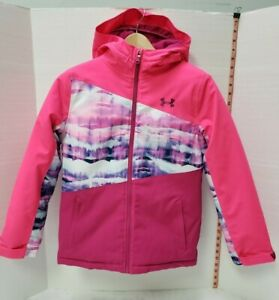 Under Armour Youth Girls Winter Jacket Water Repellent Breathable size:M $69.99