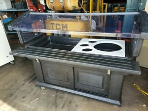 Salad Bar Cambro with tray slide and lower storage $400.00