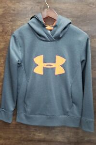Under Armour Cold Gear Hoodie Gray Medium $14.99