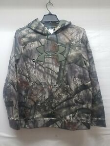 Under Armour Loose Fit Cold Gear Hoodie Mossy Oak Camo Large $39.99