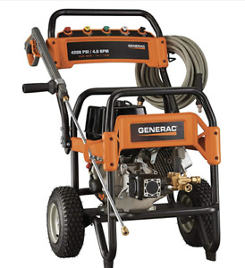 Gas Powered Commercial Pressure Washer 4200 PSI Generac 6565 NEW