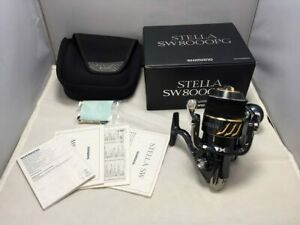 Used SHIMANO 13 STELLA SW8000PG spinning reelLimited Good condition Genuine