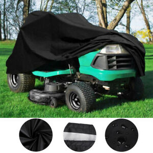 72quot; Outdoor Lawn Mower Tractor Cover Heavy Duty Waterproof UV Protection Coating $18.99