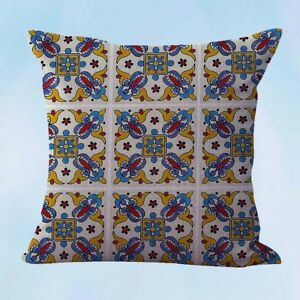talavera Mexican Spanish cushion cover throw pillow covers $14.96