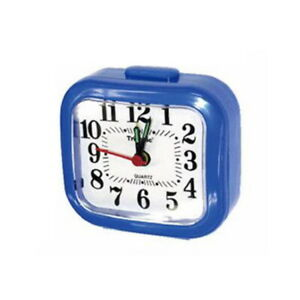 Travel Alarm Clock Battery Operated Analog 12 Hours Home Decor US SHIP