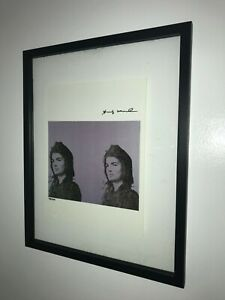 Andy Warhol 1986 Original Print Hand Signed with Certificate Resale $5850