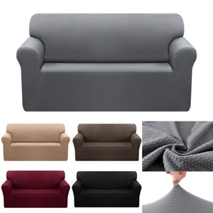 1 2 3 4 Seater Waterproof Stretch Jacquard Sofa Couch Cover Loveseat Slipcover