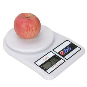 Kitchen Scale Electronic Food Weighing Scale LCD Digital Measuring 1.0G Accurate $15.19