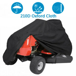 72inch Riding Mower Cover Outside Yard Lawn Garden Tractor Protector Waterproof $21.89