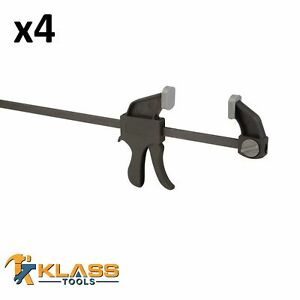 18 Heavy Duty Ratcheting Bar Clamp 4 F Clamps $54.43