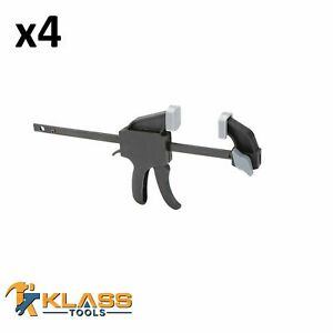 4 Heavy Duty Ratcheting Bar Clamp 4 F Clamps $25.18