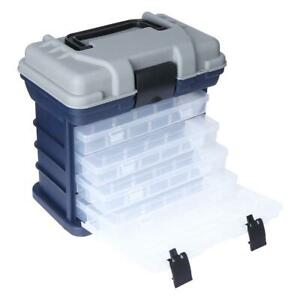 Multi-Layer Fish Lures Container Box Durable Fishing Tackle Storage Case H1