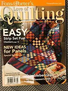 Fons amp; Porter#x27;s Love of Quilting Magazines 2004 2007 $2.50
