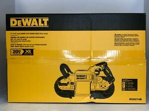 DeWalt DCS374B 20V MAX* XR Brushless Deep Cut Band Saw (Tool Only)