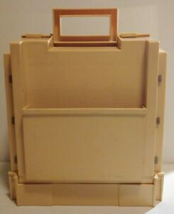 VINTAGE World Wide Media 1983 Thread Spool Tower Carrying Storage Sewing Case $24.95