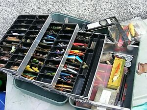ABU TOBY GRACIA LURS SPINNERS ETC SWEDISH TACKLE ETC AND CASE