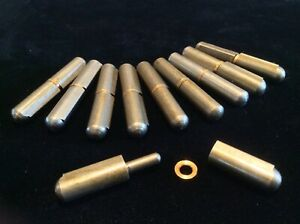 BULLET Weld-On Hinge, Mill Finish, 2-3/4 x 1/2 In ( 10 hinges )