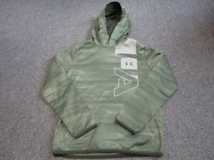 MINT BOYS UNDER ARMOUR HOODED SWEATSHIRT SIZE XL HOODIE $14.99