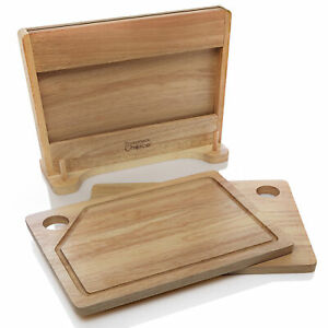 Prosumer's Choice Cutting Boards and Included Stand with Built-In Knife Holder