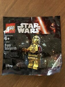 LEGO Star Wars The Force Awakens C-3PO 5002948 Minifigure New & SEALED Polybag